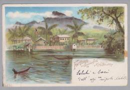 AK Afrika Kamerun 190101-18 Factorei Litho Otto Schaefer - Cameroun
