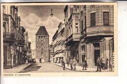 POMMERN - KONITZ / CHOJNICE, Strassensansicht, 1940, Feldpost 2. Weltkrieg, Feldpost Nr. 04189 4.Komp. Inf.Regt 317