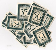 Antilles Néerlandaises Taxe 41/57 Neufs ** - Superbe - Antilles