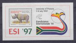 South Africa 1997 Esi / Black Rhino M/s ** Mnh (20975) - Blokken & Velletjes