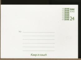 EIRE  -  Cartolina Intero Postale - Interi Postali