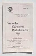 MOTO - Brochure Des PHARES WILLOCQ-BOTTIN - éclairage Acétylène - Janvier 1925 - Motos