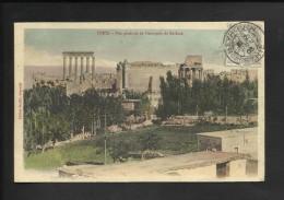 Syrie- Vue g�n�rale de l�Acropole de Balbeck