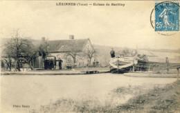 LEZINNES (Yonne) -- ECLUSE  DE  BATILLEY    Pli Sur Les Deux Coins Du Bas état - Other Municipalities