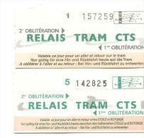 TICKET TRANSPORT LOT DE 11 TICKETS  DIFFEREENTES COMPAGNIES DE TRANSPORT