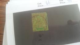 LOT 253932 TIMBRE DE COLONIE DIEGO SUAREZ OBLITERE N�44 VALEUR 16 EUROS