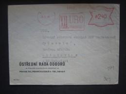 BRIEF Frankotype FreistempelPraha XII.URO 1946   // Tm2178 - Tschechoslowakei/CSSR