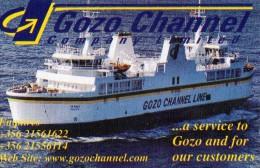 TICKET EMBARQUEMENT BATEAU  Gozo Channel  MALTE - Europe