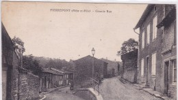 Pierrepont Grande Rue - France