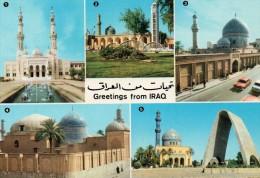 CPSM - IRAQ - IRAK - BAGHDAD - Multivues - Coul - Déb 70 - - Iraq