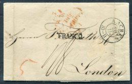 1840 Aachen FRANCO Allemagne Par Herve Entire -  Huth, London GB - Germany
