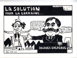 LA SOLUTION POUR LA LORRAINE  JACQUES CHEREQUE  -  LARDIE 125 EX NUMEROTTES 1984 - Lardie