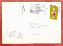 Buecherzettel, Europa  Band-MS Planetarium Bochum, Nach Stuttgart 1976? (76348) - BRD
