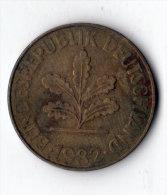 ALLEMAGNE  -  10 Pfennig 1982 J  (9) - 10 Pfennig