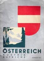 Brochure Touristique Ancienne - Autriche 1937 - Tourism Brochures