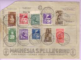 1937 - Colonie Estive - Valori 406-412 Ordinari + 100-102 Aerea - Usati
