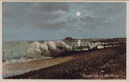 CP WORTHING ENGLAND ROUGH SEA - Worthing