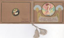 """CALENDARIETTO 1914""""DANZE ORIENTALI""""  PROFUMATO ALLA ROSA ROSSA  OPSO PARMA 2 SCAN-2-0882-23462-463 - Petit Format : 1901-20"""