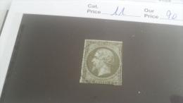 LOT 254036 TIMBRE DE FRANCE OBLITERE N�11 VALEUR 90 EUROS
