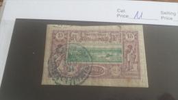 LOT 254073 TIMBRE DE COLONIE SOMALIS OBLITERE N�11 VALEUR 11 EUROS