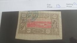 LOT 254074 TIMBRE DE COLONIE SOMALIS OBLITERE N�53 VALEUR 13 EUROS
