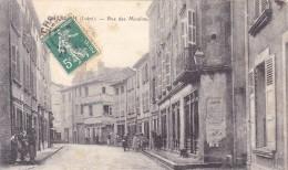 (10)  CHARLIEU - Rue Des Moulins - Charlieu