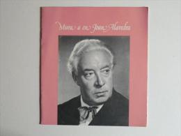 Mura A En Joan Alavedra. Programa Dels Actes D´homenatge. Redacció, Ricard Simó I Bach. - Documentos Antiguos
