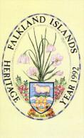 CARTE MAGNETIQUE  FALKLAND  50 Units  Héritage Year 1992  ******6 - Falkland
