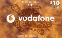 CARTE PREPAYEE FIDJI  $10  Vodaphone Tortue Turtle ******6 - Fidji