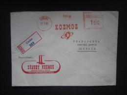 BRIEF Frankotype Freistempel PRAHA 1969 Teps // Tm2166 - Tschechoslowakei/CSSR