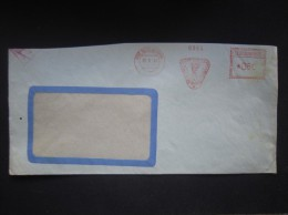 BRIEF Frankotype Freistempel Nove Mesto Nad Vahom 1964 Povazske Konzervarne  // Tm2173 - Lettres & Documents