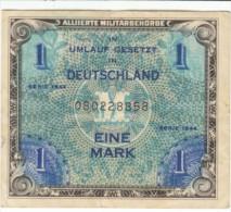 #192a Germany 1 Mark Money Banknote Currency - [ 5] 1945-1949 : Bezetting Door De Geallieerden