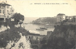 MONACO TRAIN RAVIN DE STE DEVOTE PORT TBE - Harbor