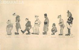 CARICATURE : AVIATION - T.O.E. - POMPIERS  - LE GARDE - PAR PAM - MILITARIA - GUERRE - HUMOURISTIQUE - SAUMUR - Humoristiques