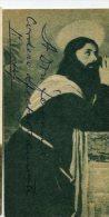 "AUTOGRAFO DÉDICACÉ AUTOGRAPHED ""JULIO TRAVERSA"" ACTOR-ACTEUR-ATTORI ITALIANI 1901 SIGNATURE EXCLUSIVE NON CIRCULEE GECKO - Autógrafos"