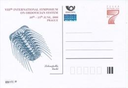 J0103 - Czech Rep. (1999) VIIIth International Symposium On Ordovician System, Prague (Selenopellis Buchi) - Fossils