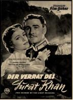 """Illustrierte Film-Bühne  -  """"Der Verrat Des Surat Khan -  Mit Errol Flynn  -  Filmprogramm Nr. 961 Von Ca. 1950 - Magazines"""