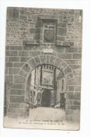 Cp , 50 , Le Mont Saint MICHEL , La Porte Du Boulevard Et La Porte Du Roi , Ed : Nozais , Vierge - Le Mont Saint Michel