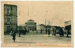 BENEVENTO VIALE S. LORENZO E TEMPIO MARIA SS. DELLE GRAZIE 1928 - Benevento