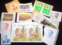 Belgium KILOWARE MissionBag 2.5 KG (5LB-8oz) Stamp Mixture       [vrac Kilowaar Kilovara] - Timbres