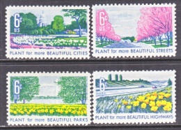 US   1365-8  **     BOTANICAL FLOWERS - United States