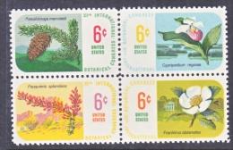 US   1379a  **   BOTANICAL FLOWERS - United States