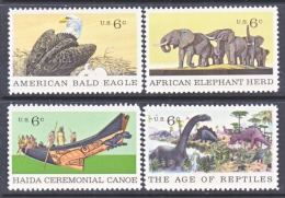 US   1387-90  **   NATURAL HISTORY - United States