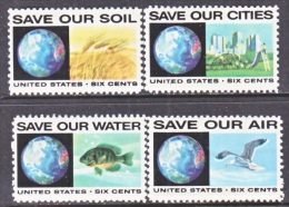 US   1410-13  **   ANTI  POLUTION - United States