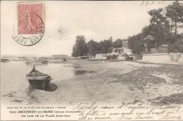 ANDERNOS LES BAINS - 33 - CARTE INTROUVABLE Sur Le Site D'Un Coin De La Plage Coté Sud - VAN - - France