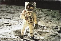APOLLO 11 ON MOON - Astronaut Edwin E. Aldrin Jr. - Espacio