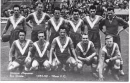 TILLEUR (4420 ) Division D'honneur TILLEUR F . C . 1951-1952 - Saint-Nicolas
