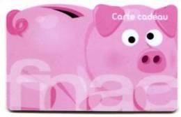 @+ Carte Cadeau - Gift Card : FNAC - Tirelire Petit Cochon (A) - France