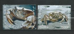 Laos 2007.crabs 2v.MNH - Laos