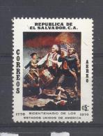 El Salvador 1976, American Revolution, Minr 1177, MNH. Cv 3,80 Euro - El Salvador